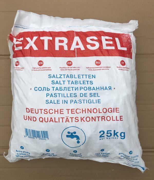 Соль пищевая таблетированная 25 кг для фильтров умягчителей